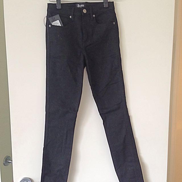 Bardot Black Very Skinny Jeans Size 8