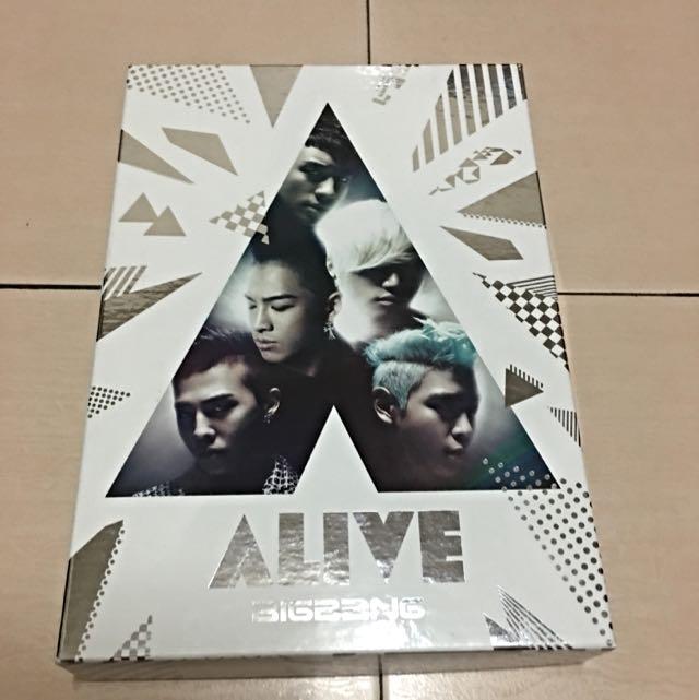 BIGBANG 日版ALIVE CD+DVD