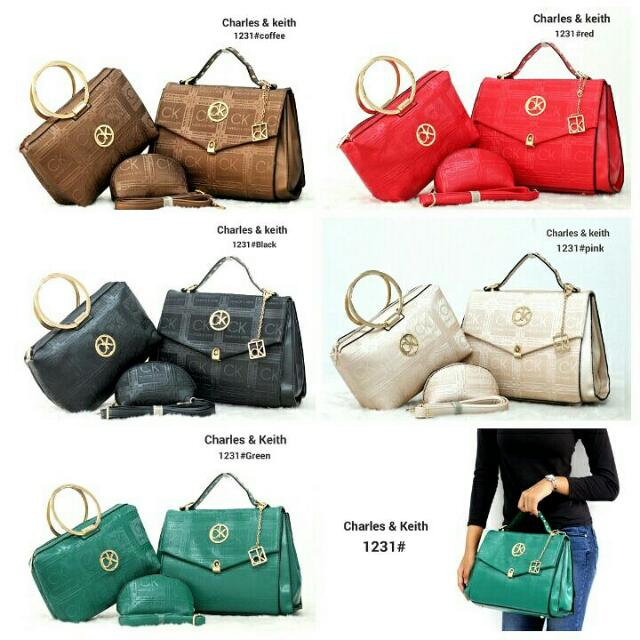 CHARLES & KEITH 3in1 1231
