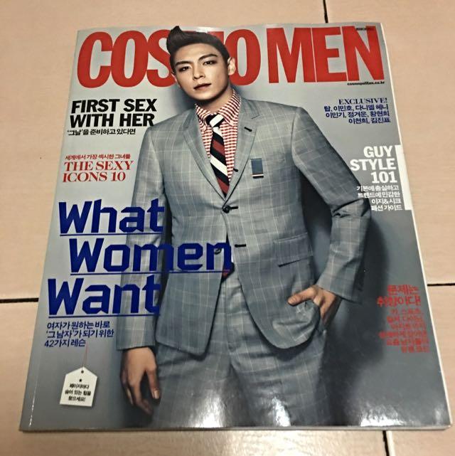 韓國COSMO MEN雜誌 TOP封面