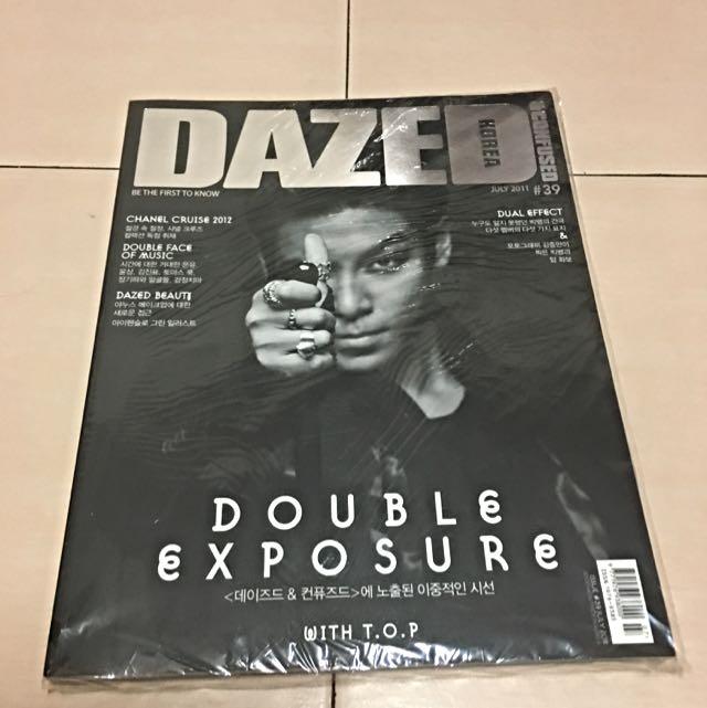 韓國DAZED雜誌 TOP封面