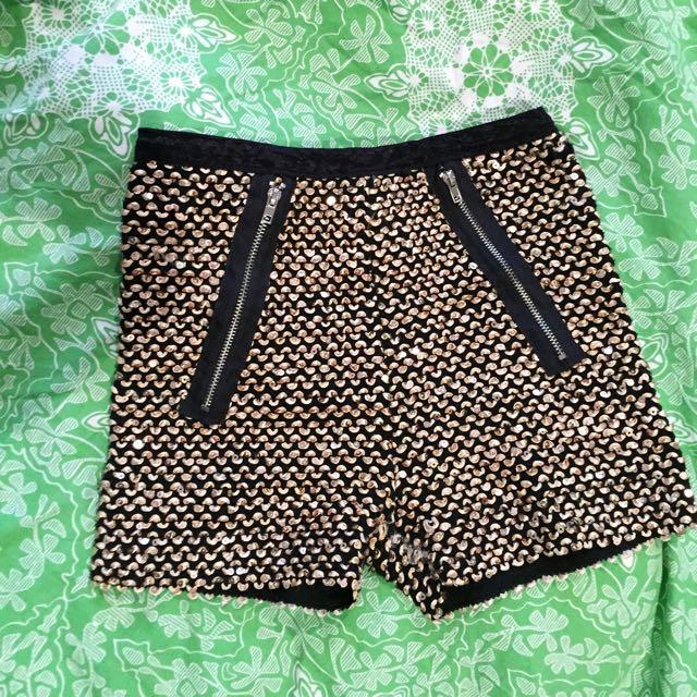 Disco/booty Shorts