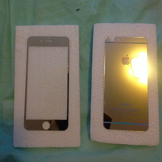 Gold Mirrored iPhone 6 Screens