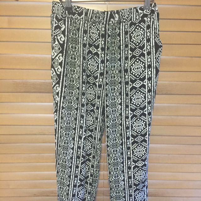 Hippy Patterned Pants Size 8-10
