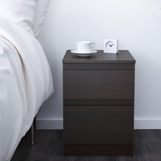 IKEA KULLEN Bedside Table Drawer, Furniture on Carousell