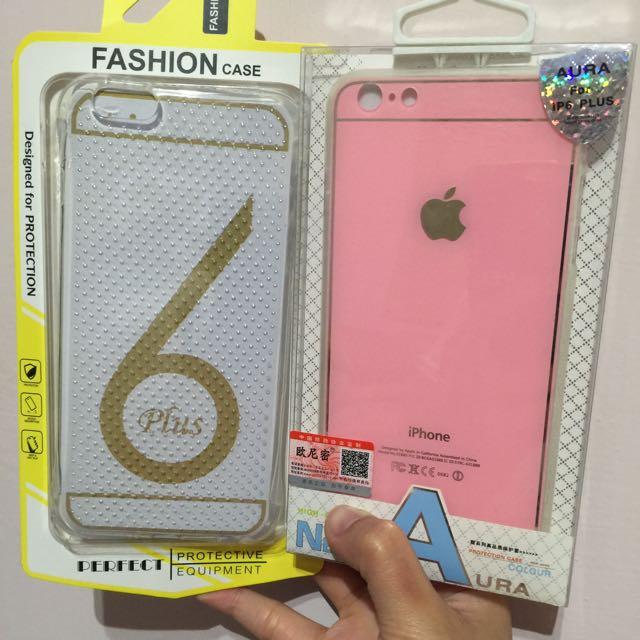 iphone6 plus 5.5 矽膠氣囊 防摔 空壓殼 透明 馬卡龍 粉色 軟殼