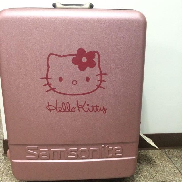 哈囉kiki行李箱💞