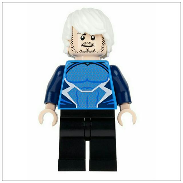 LEGO 76041 The Hydra Fortress Smash - Quicksilver Minifigure Only