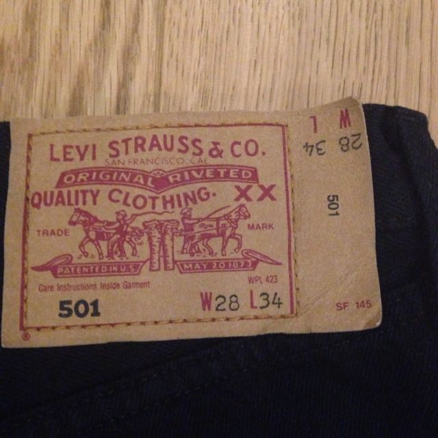 Levi Amazing Condition Vintage