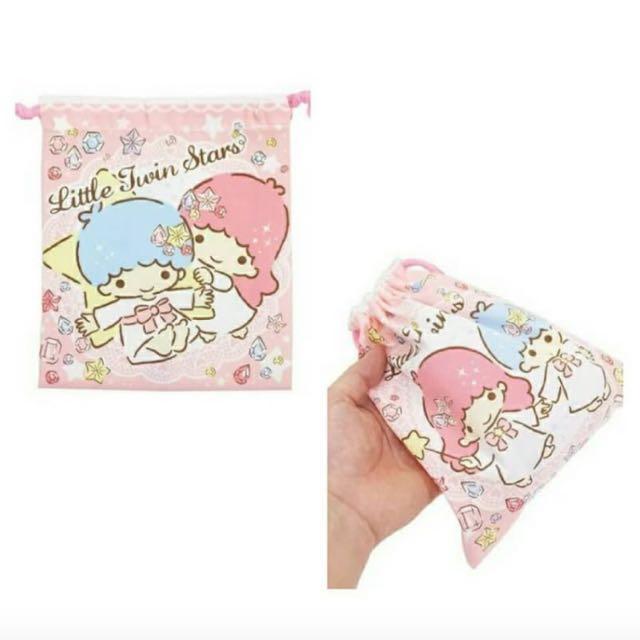 Little Twin Stars 彩色束口袋(雙子星)