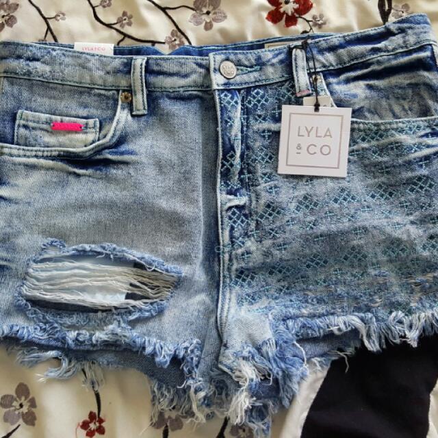 Lyal & Co Denim Shorts