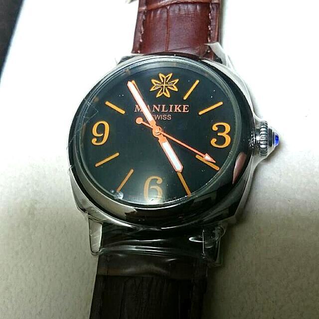 MANLIKE英豪風範時尚腕錶