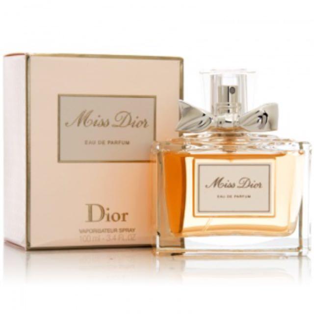 保留-(全新)Miss Dior  EAU DE PARFUM 香水100ml