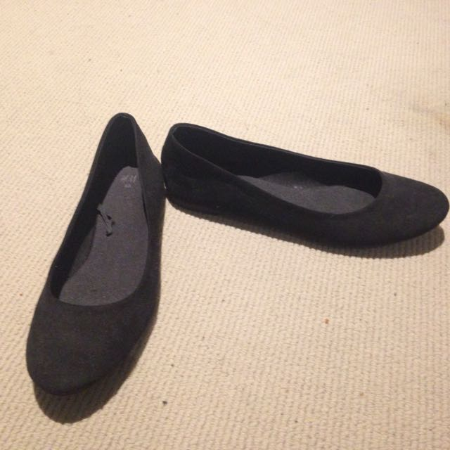 New luck Black Shoes Worn Once