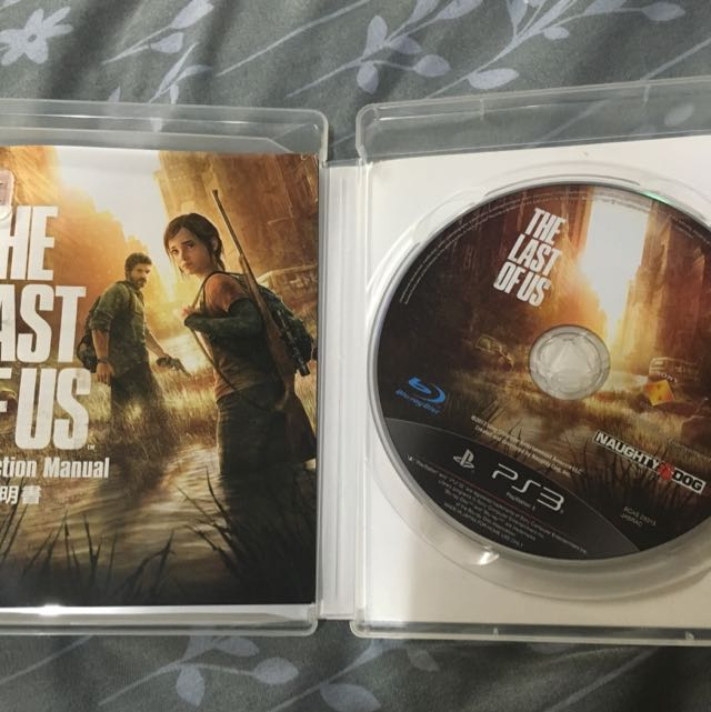 PS3  The Last Of Us(最後生還者)中英二手