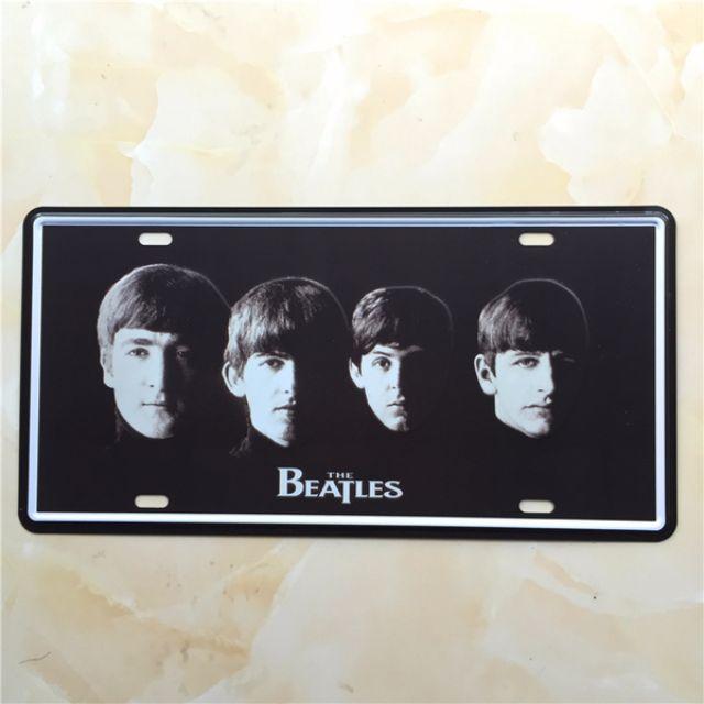 復古鐵牌-披頭四The Beatles{20x30}