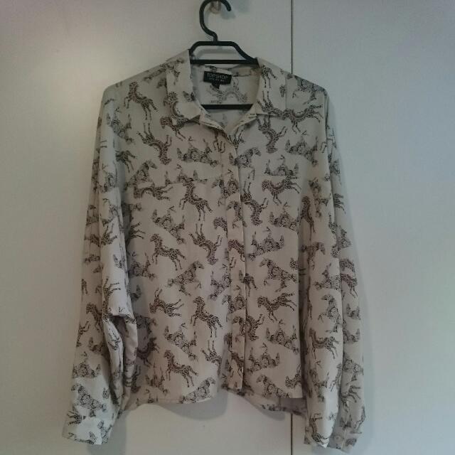 Topshop Bat Wing Shirt