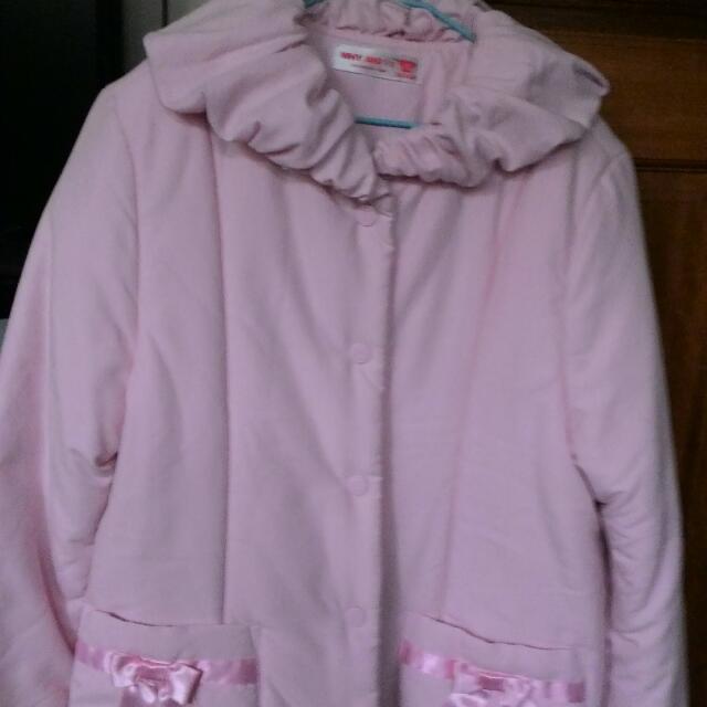 Why1/2 粉色外套