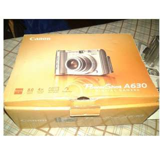 Canon PowerShot A630 (used)