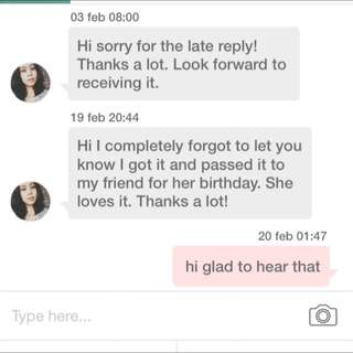 HAPPY CUSTOMERS FEEDBACK :)