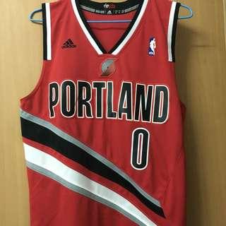 NBA Adidas Damian Lillard 球衣
