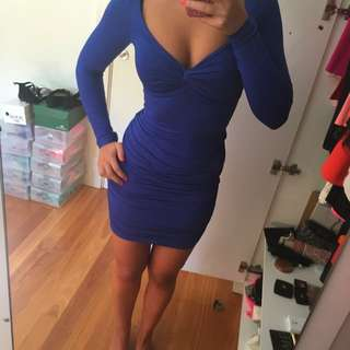 Blue Kookai dress