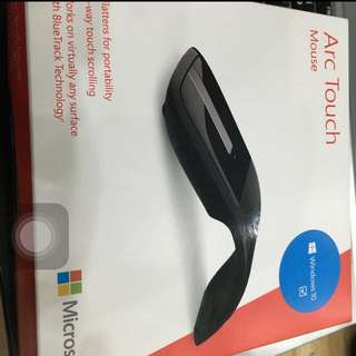售全新未拆的Microsoft Arc Touch滑鼠 新版 win10可用