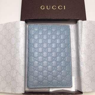 Gucci 壓紋名片夾-賠售