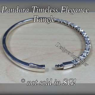 a2be3bce5 Brand New Authentic Pandora Timeless Elegance Princess Cut Bangle - not  sold in