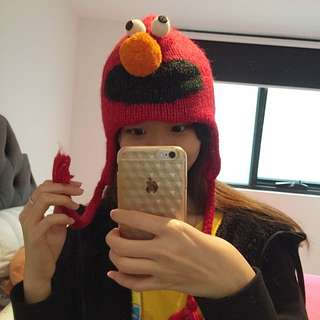 Elmo hat(100% Wool)