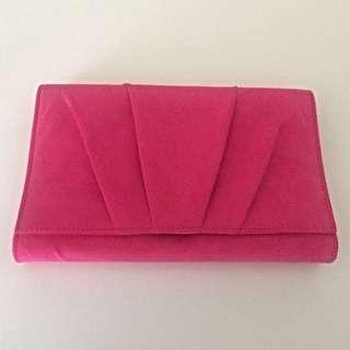 Pink Betts Clutch