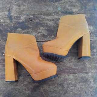 JUAL CEPET BU - Preloved koumi koumi Ankle Boots
