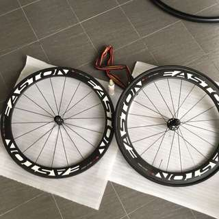 Easton EC90 Aero 56mm Carbon Wheelset