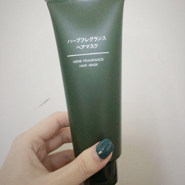 無印良品芬香草本護髮膜150g