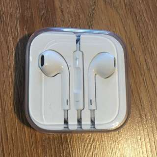 New and Unused Apple IPhone Earphones