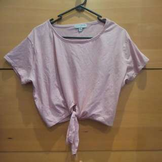 Cotton On Light Pink Oversized Top Size M