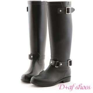 全新。時尚雨靴。D+AF