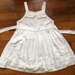 Trudy & Teddy White Dress