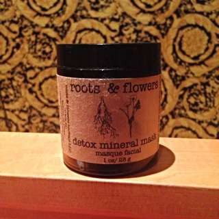 ROOTS & FLOWERS  Detox Mineral Mask