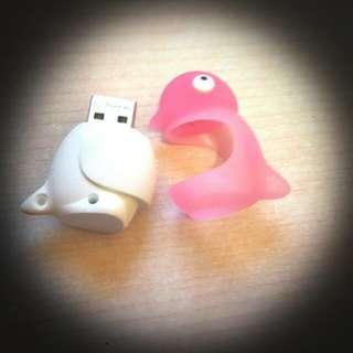 『禮』限量粉色 企鵝 4g隨身碟 (沒有圍巾)