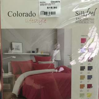 single fitted bed sheet set