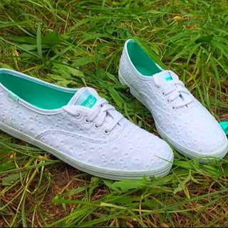 BN Authentic Keds Eyelet Champion (white) INSTOCK