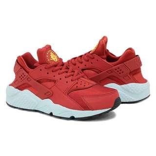 全新現貨不用等‼️Nike Air Huarache 紅色武士鞋 慢跑鞋