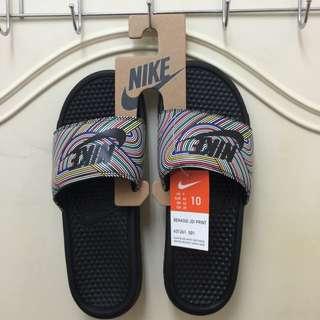 💯正品 Nike 彩虹拖鞋