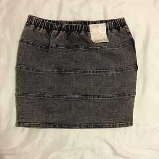 Denim Skirt New Size 10