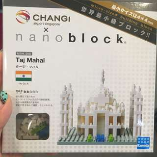 BNIB Taj Mahal Nano Blocks (Changi Airport)