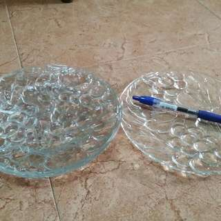 Glass Plates (4 Plates Per Set for $3.00)