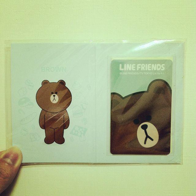 7-11 LINE 限量悠遊卡(熊大款)