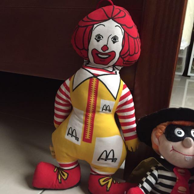 麥當勞叔叔玩偶布娃娃