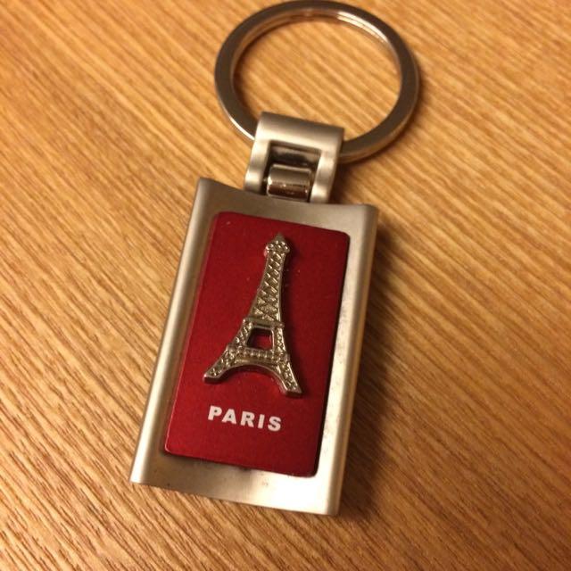 巴黎鐵塔鑰匙圈(紅)